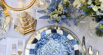 Create the ultimate Summer table with Ralph Lauren's Cote D' Azur collection