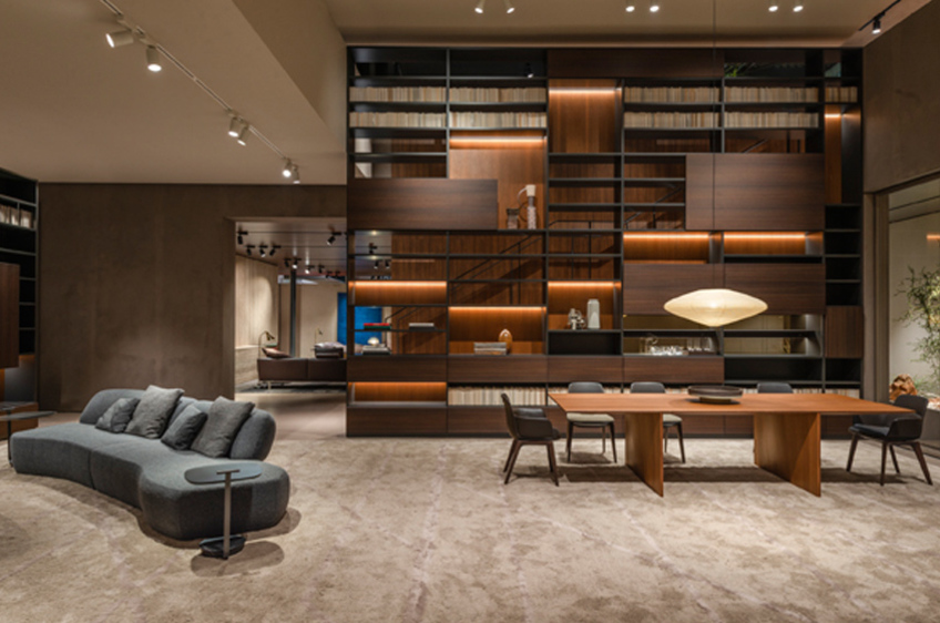 Mobili Living Molteni.Molteni C Presented New Collections At The 58th Salone Del