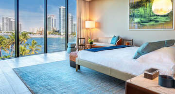 Poltrona Frau furnishes Palazzo della Luna, in the exclusive setting of Fisher Island, Miami
