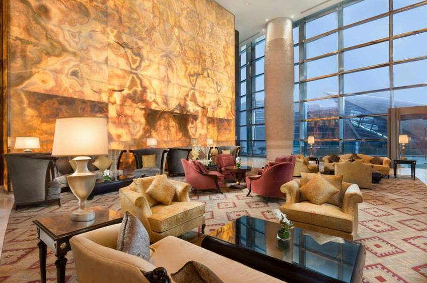 Sophisticated Classicism With Oriental Background: A Dubai Hotel With The  Signature Of Christopher Guy